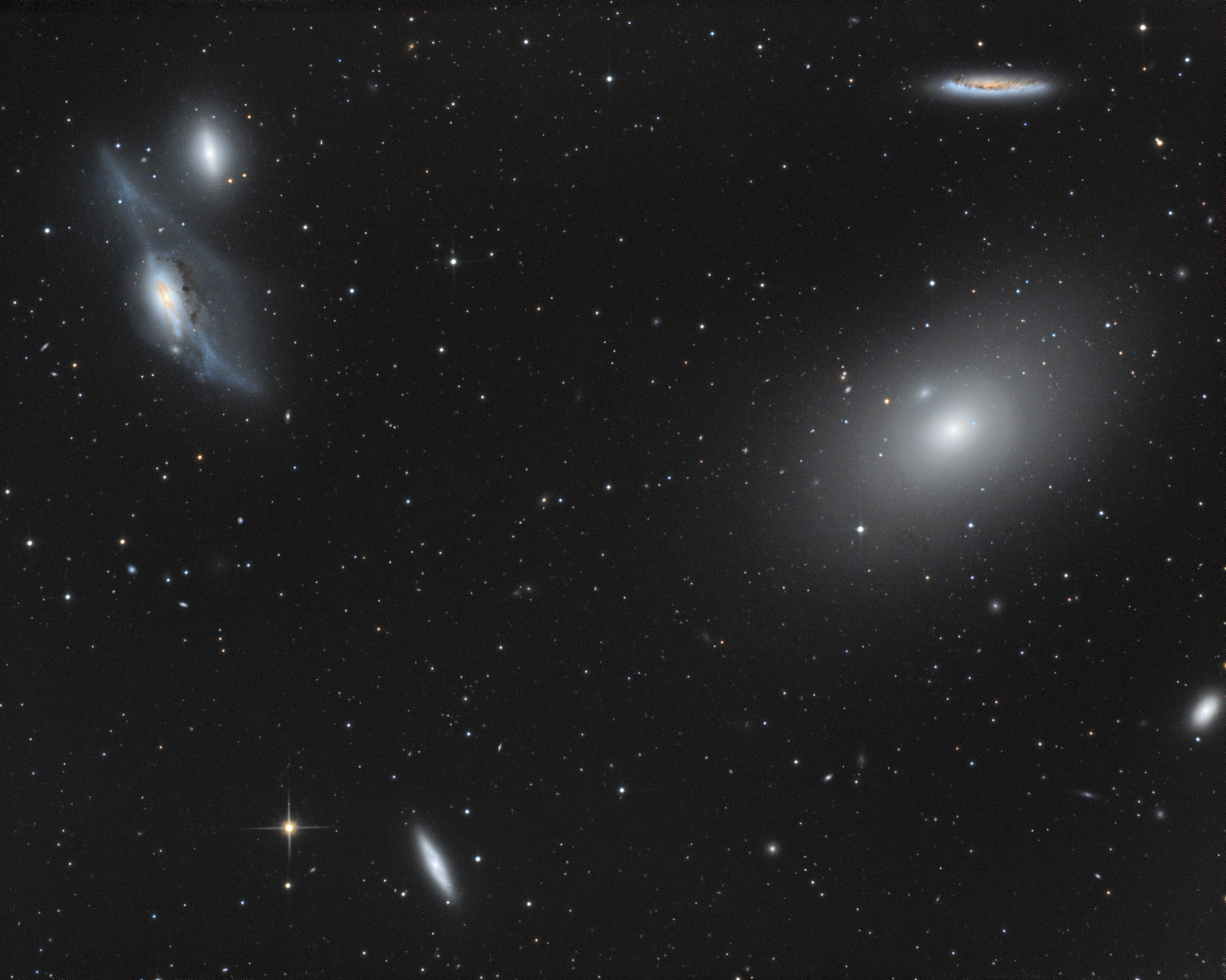 NGC4438 + quelque galaxies de la chaine Markarienne Picture-190c9b959fef27f737d1608bc64be22f-original