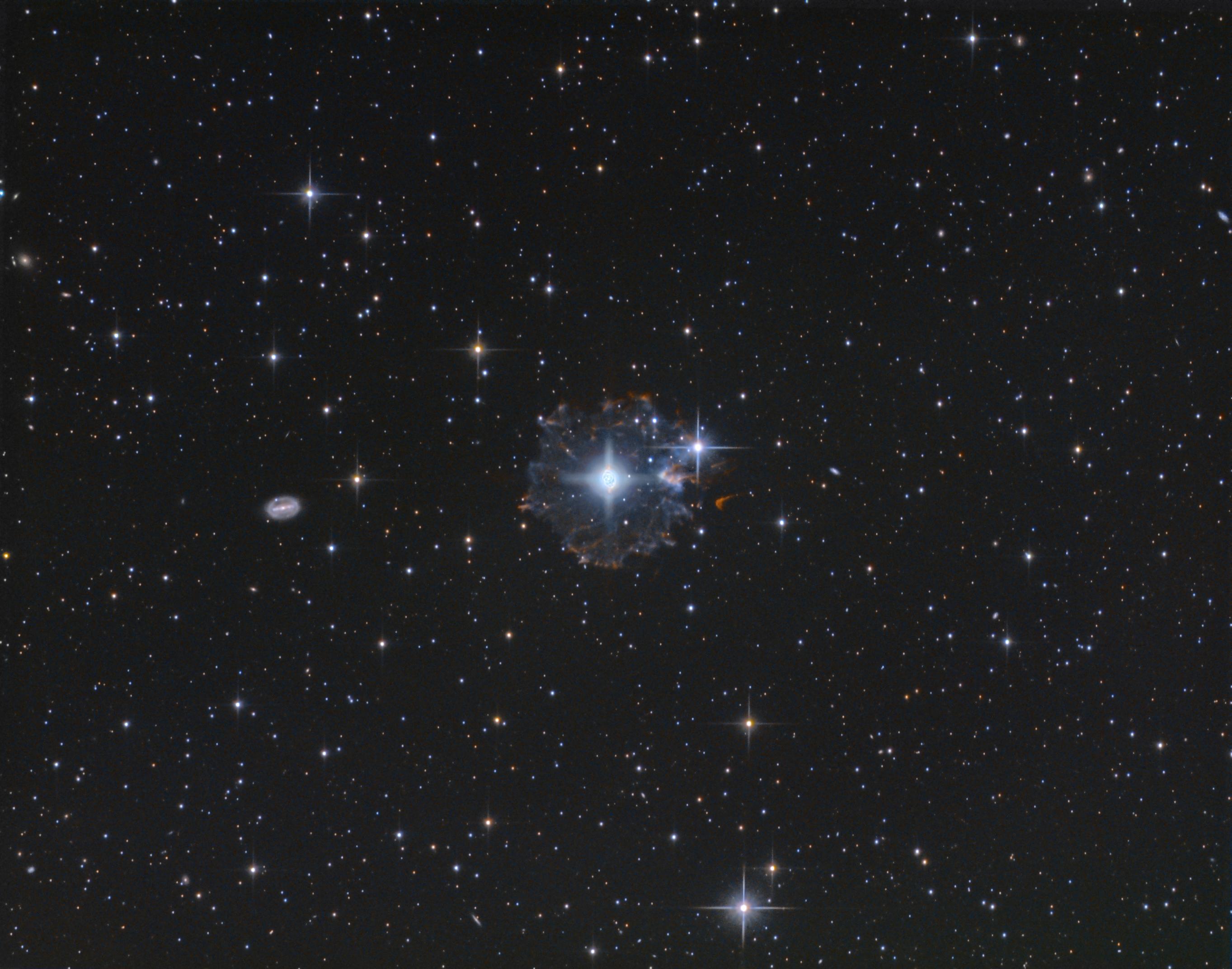 Le flocon du compte à rebours - NGC6543 Picture-1d94309f1309fe75951509e36aebf283-original