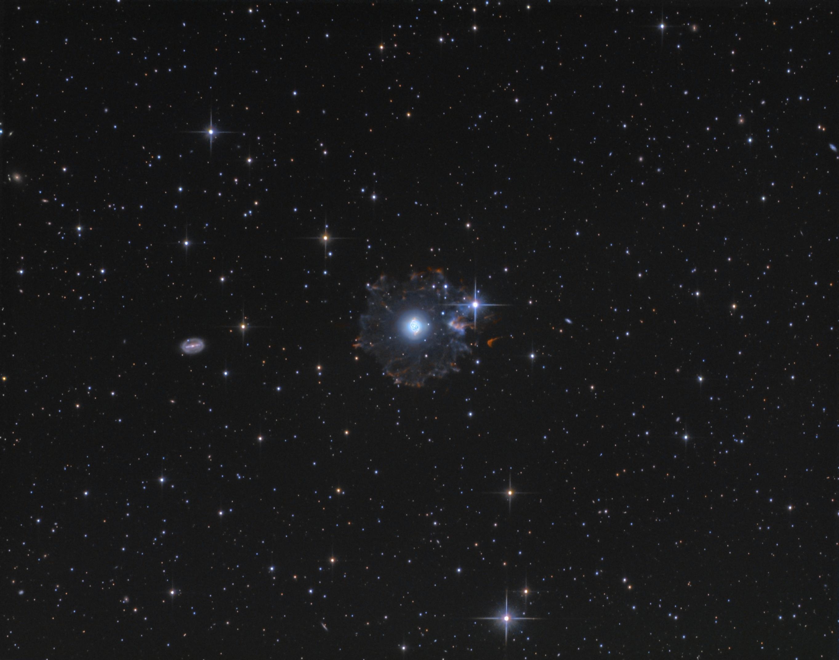 Le flocon du compte à rebours - NGC6543 Picture-4310fb0b7cea01f3e529c6b2b3f504a6-original