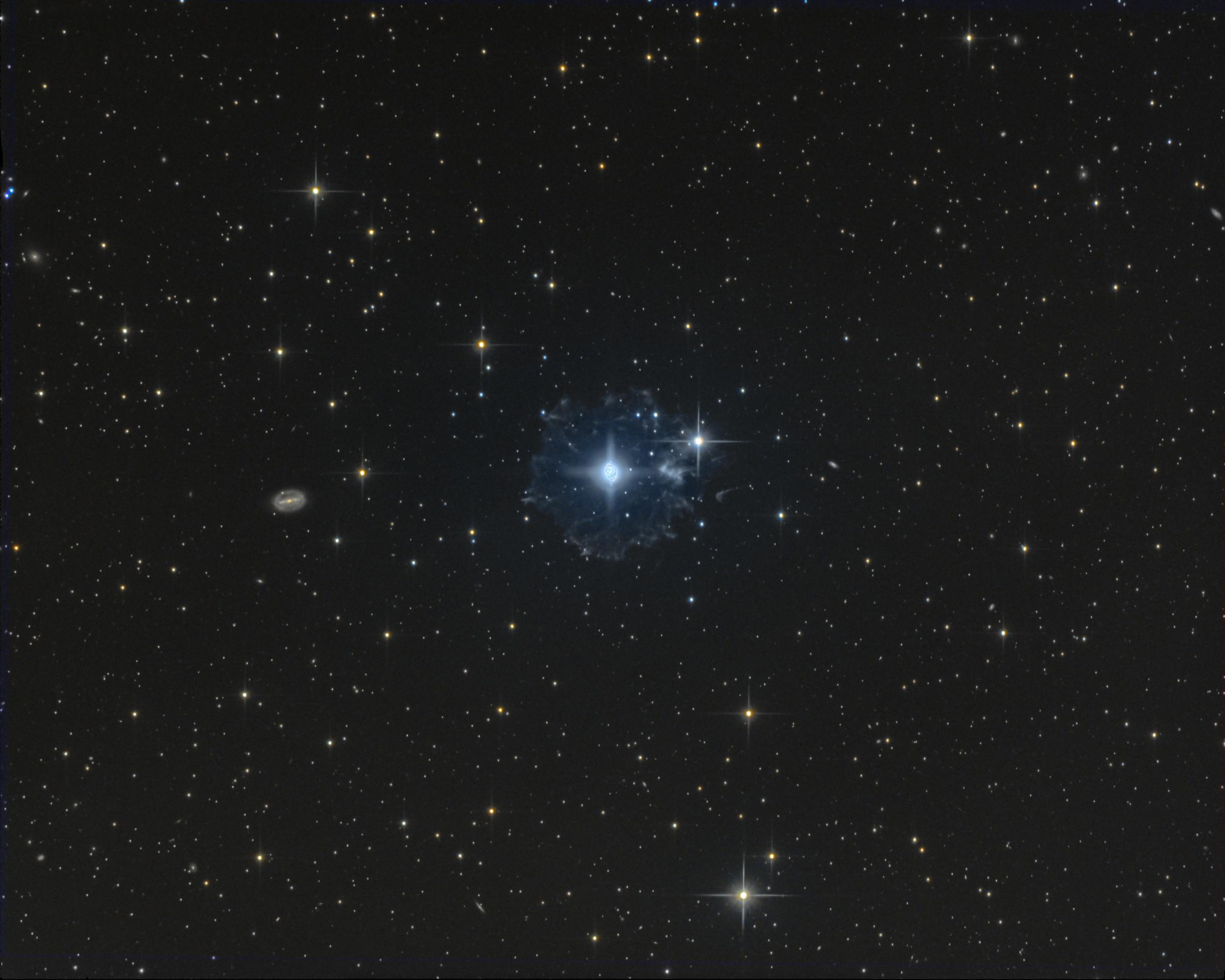 Le flocon du compte à rebours - NGC6543 Picture-50d11f0fe086bcf03397660945f85677-original