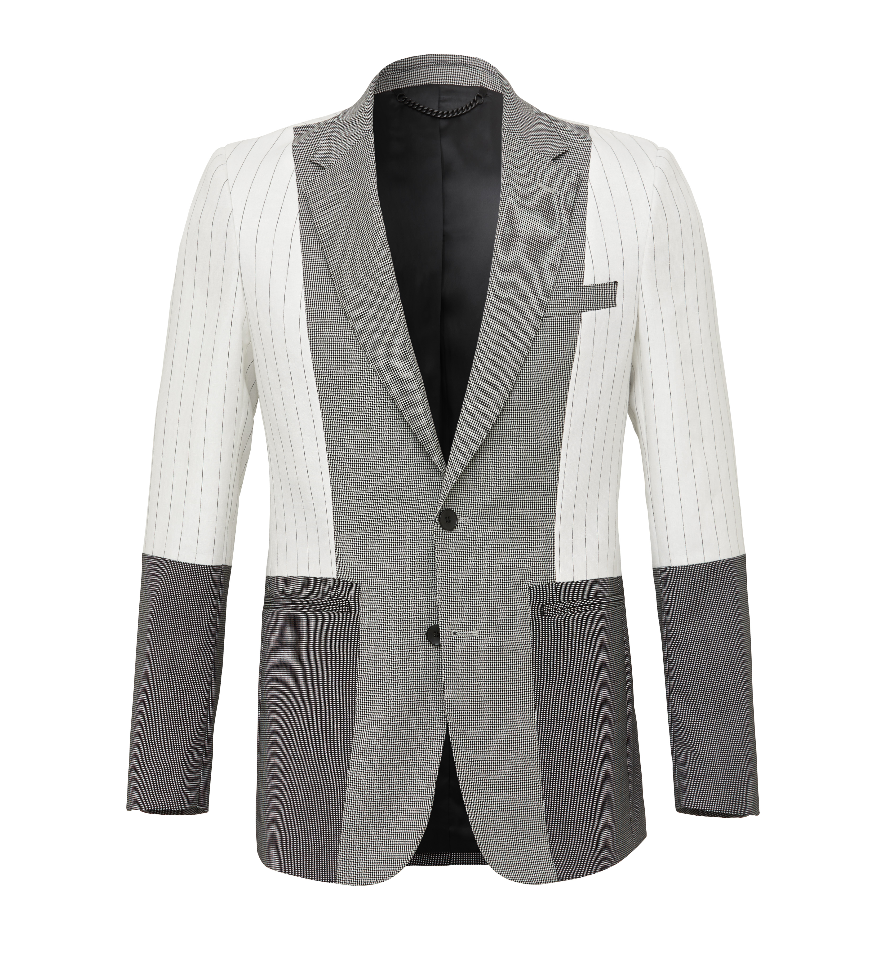 Limited Edition Panelled Single Breast Blazer