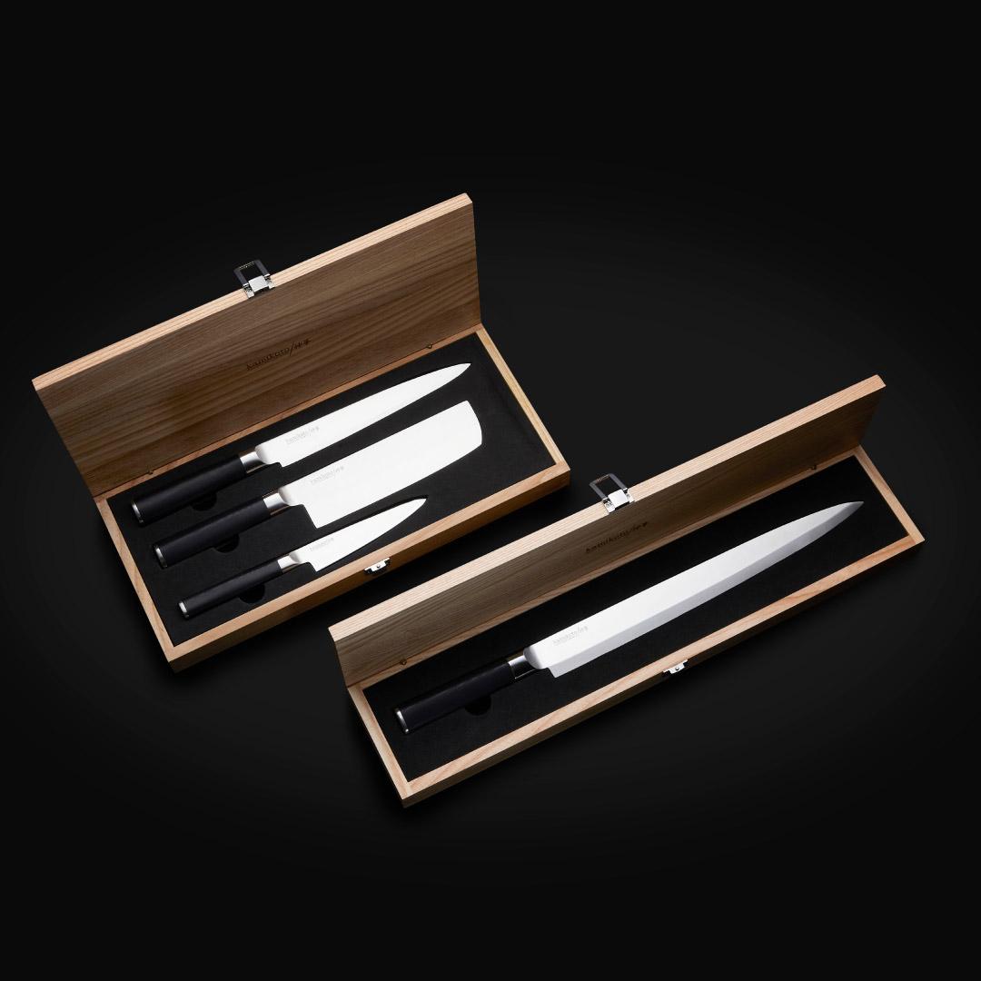 Kanpeki Knife Set & 13-inch Yanagiba