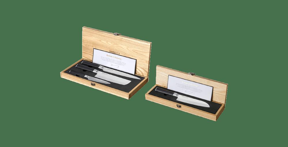 Kanpeki Knife Set & 7-Inch Santoku
