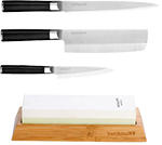 Kanpeki Knife Set & 1000/3000 Toishi Whetstone (Ships in June 2020)
