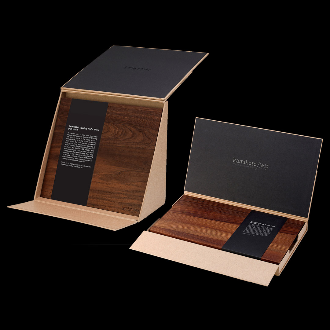 Shogai Cutting Board & Kazoku Knife Block (2 for 1)