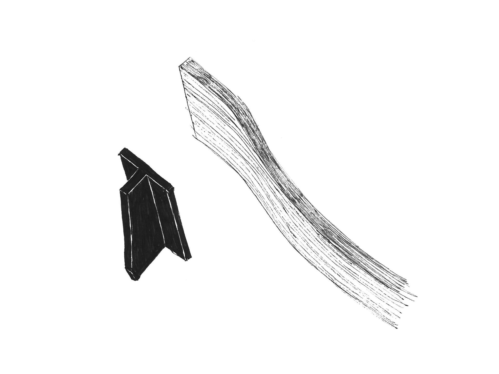 Les profilés en aluminium en T renforcent l'assise en contreplaqué et permettent aux pieds en bois massif de s'y verrouiller.