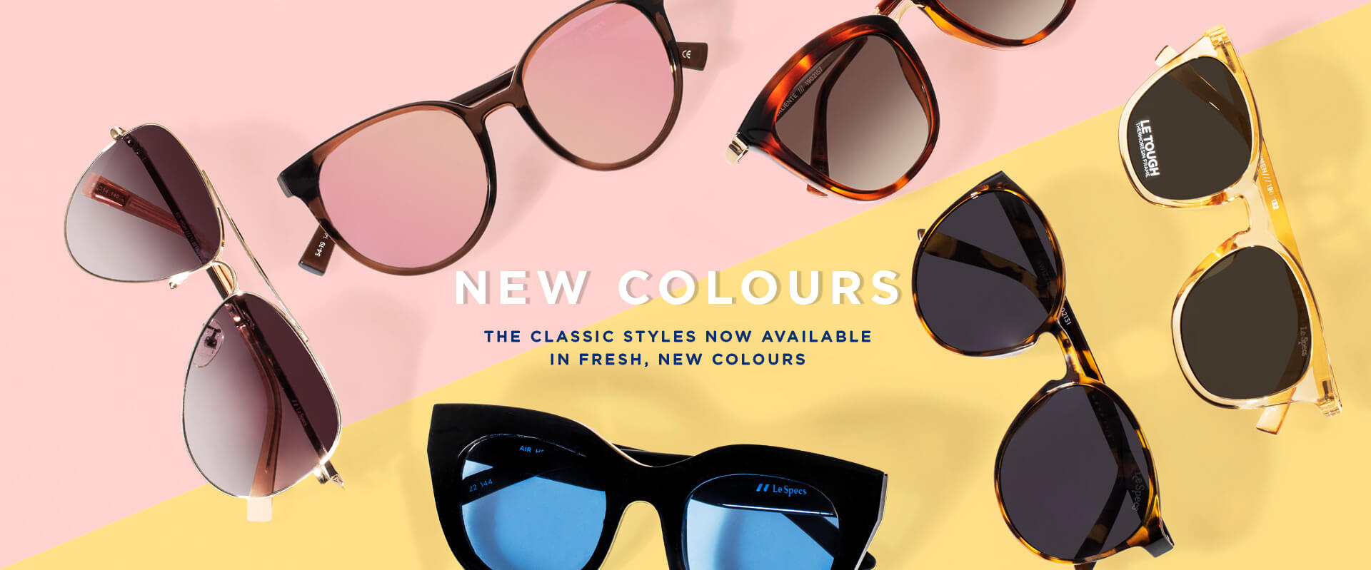 Same favourites, new colours