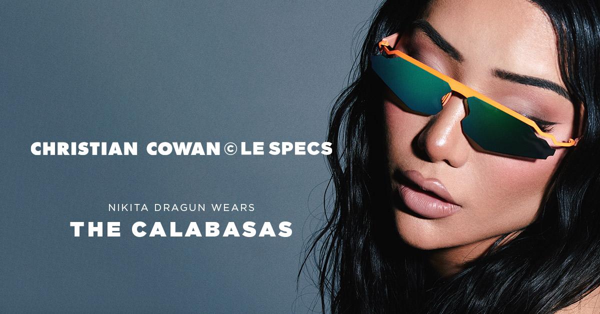 Christian Cowan x Le Specs