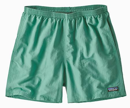 Teal Patagonia Baggies