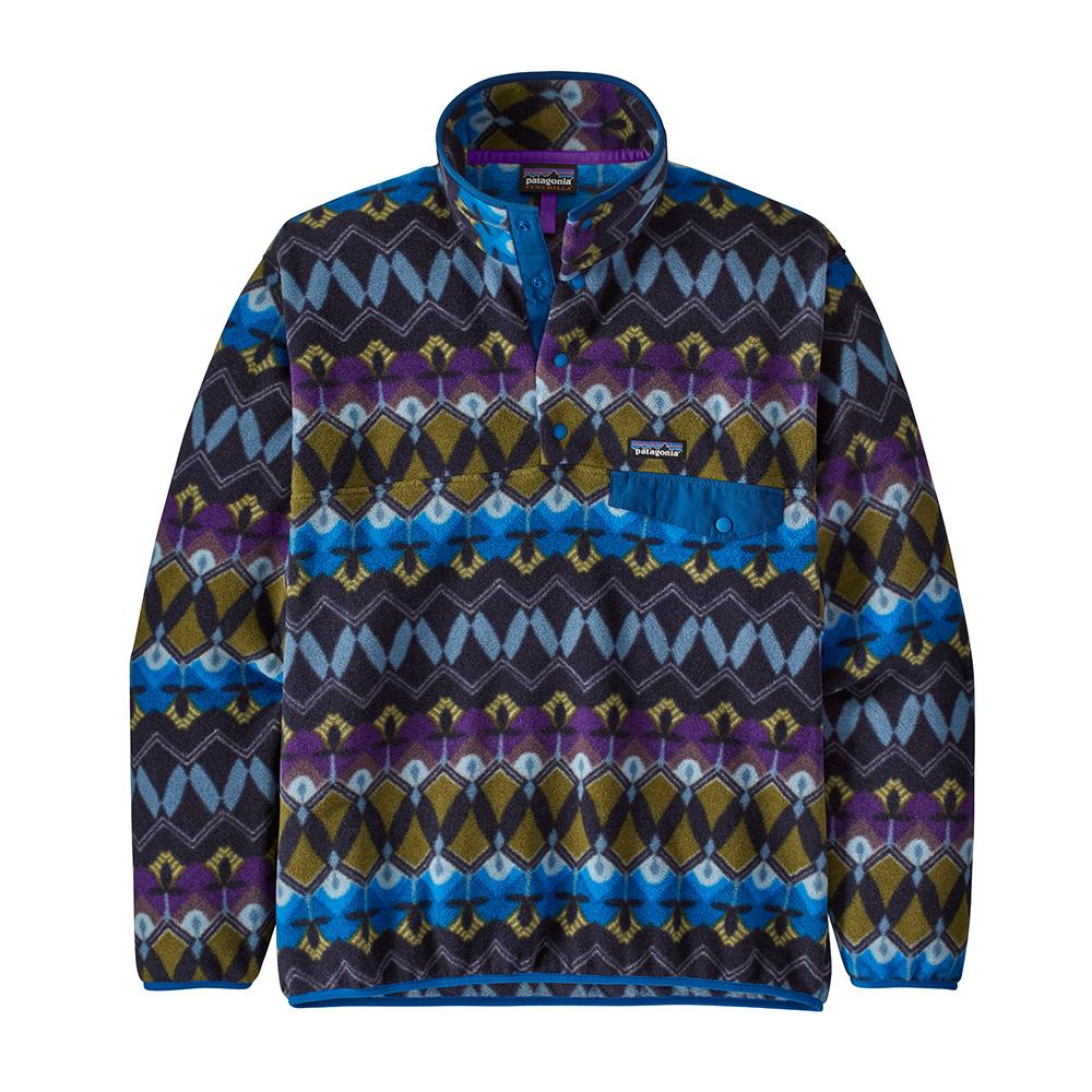 Men's Light Weight Synch Snap-T Pull Over - Companions Big: New Navy