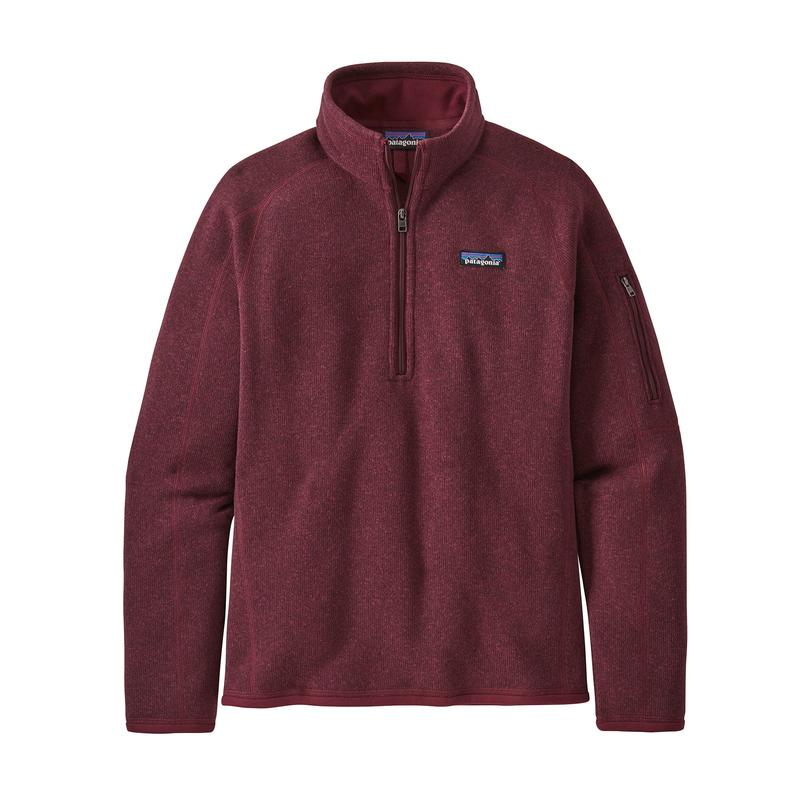 Women's Better Sweater 1/4 Zip - Chicory Red