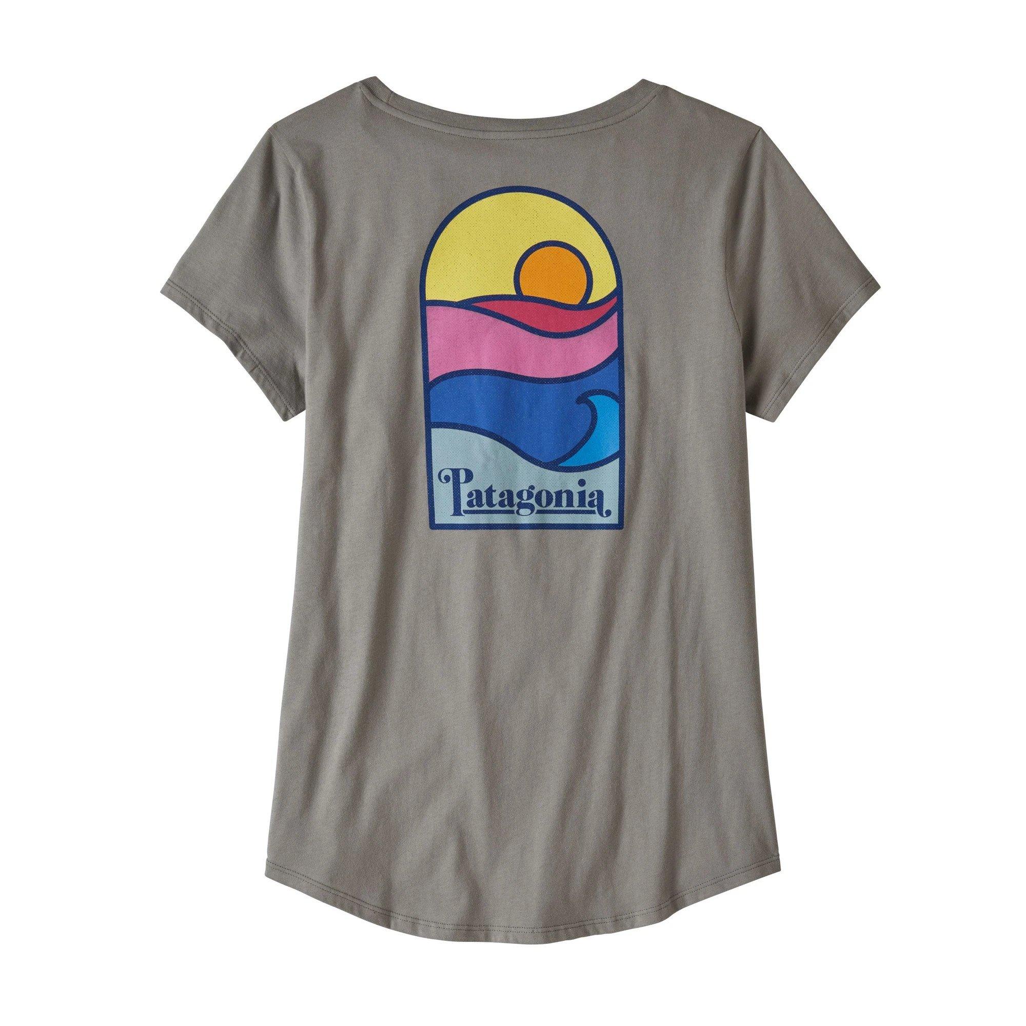 Women's Sunset Sets Organic Scoop T-Shirt