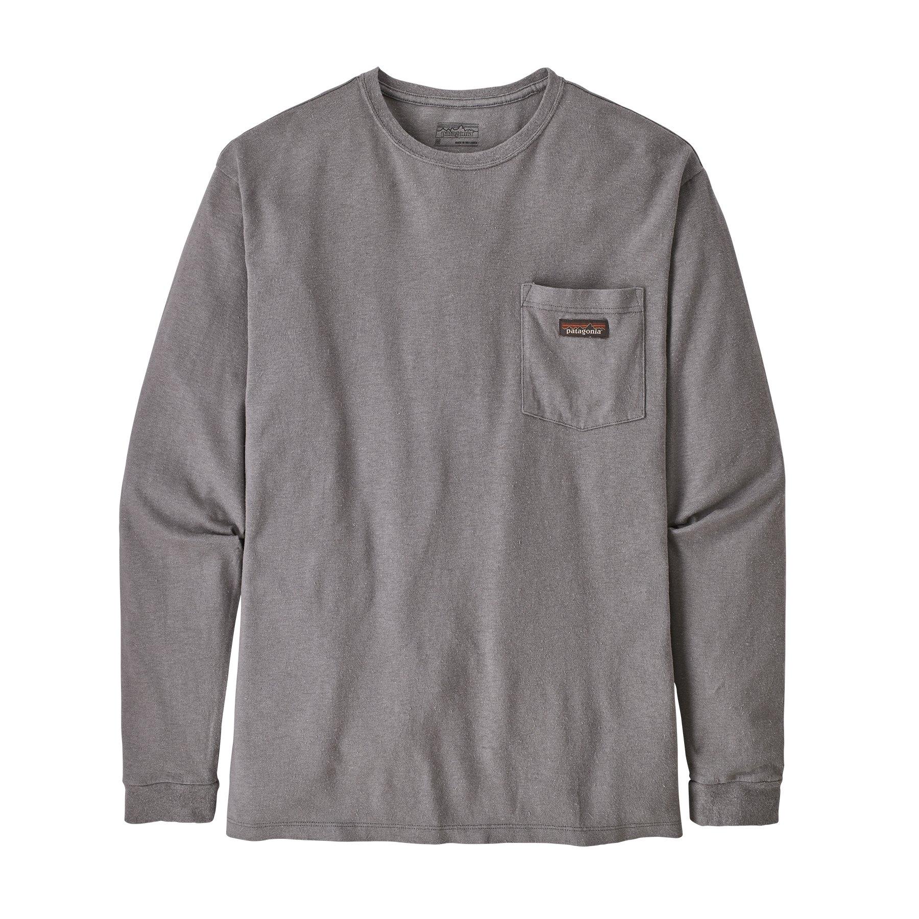 Men's Long Sleeve Work Pocket T-Shirt