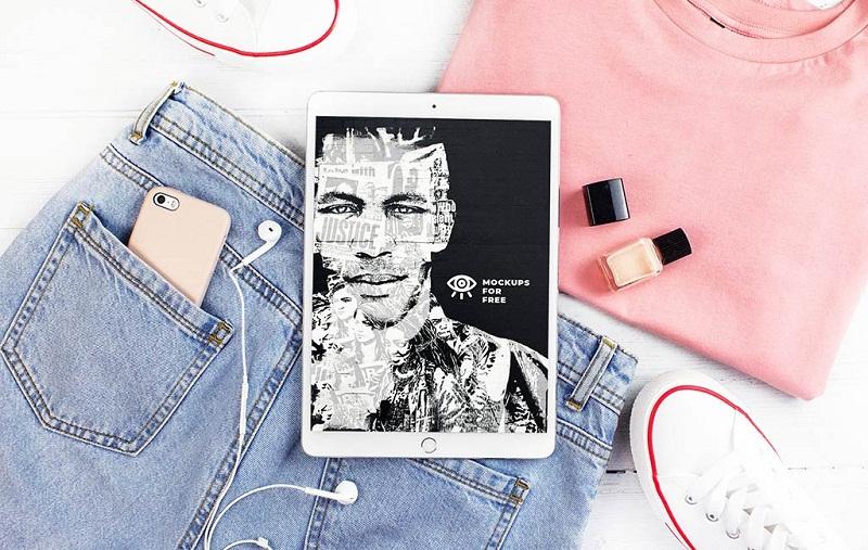 iPad Simple Mockup