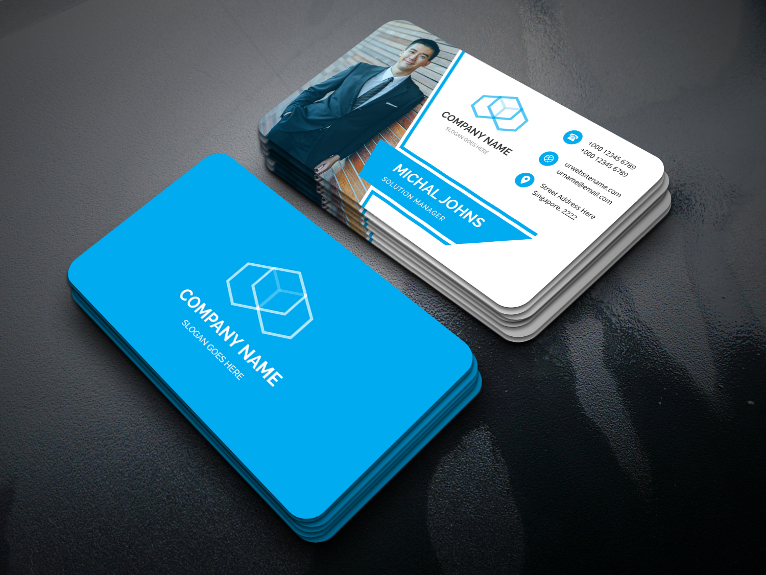 Superkings Business Card Templates