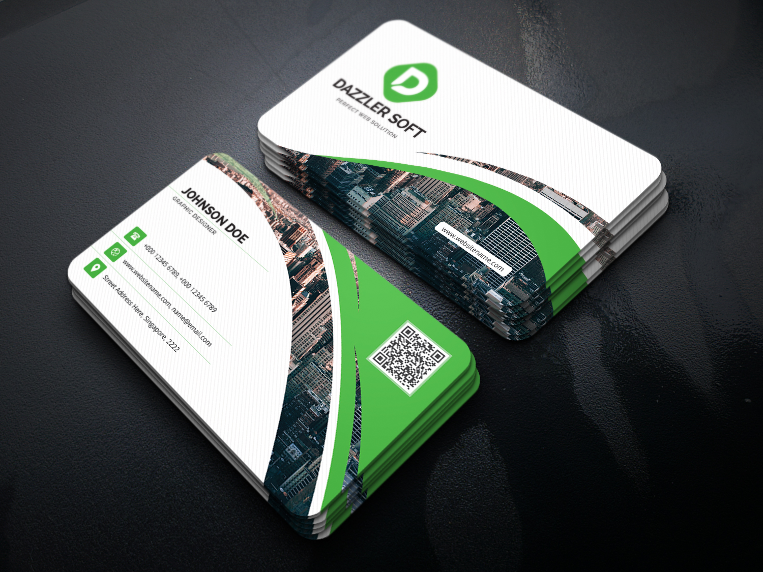 Daredevils Business Card Template