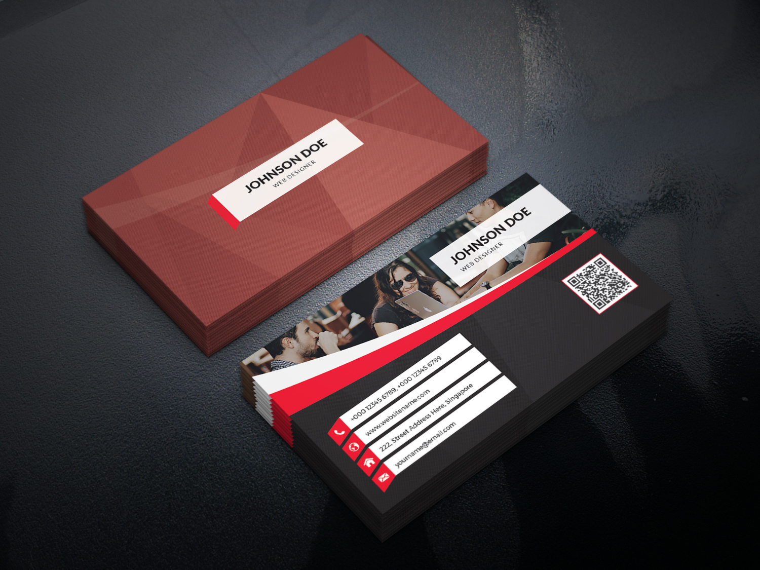 Riders Business Card Template