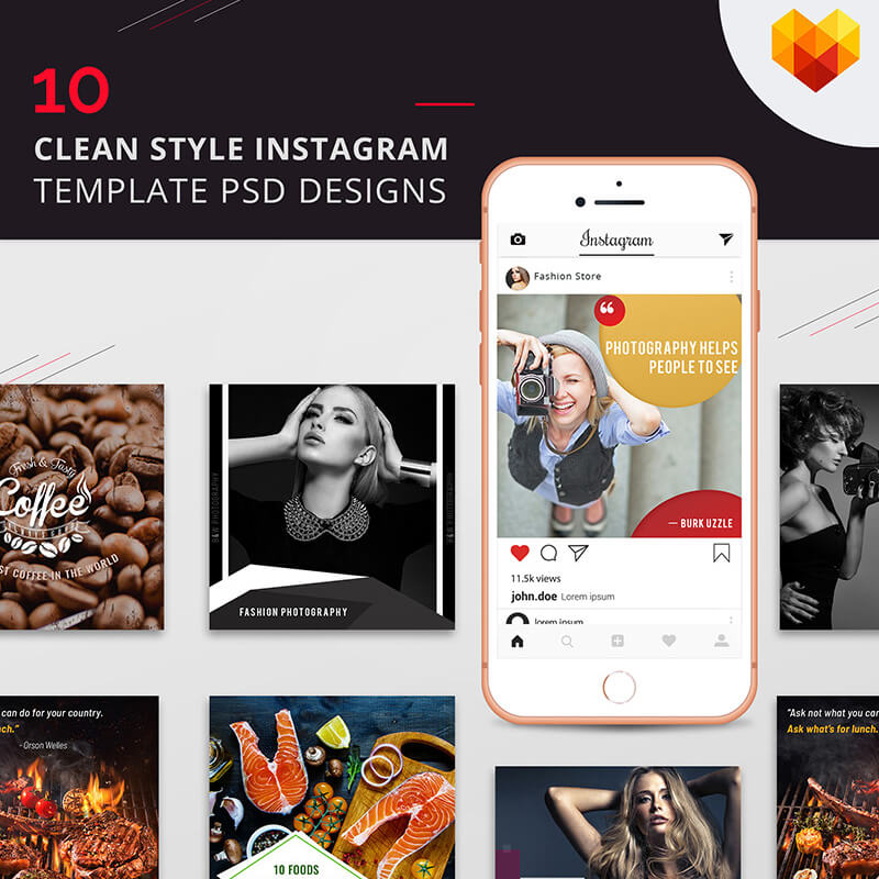 10 Clean Style Instagram Pictures