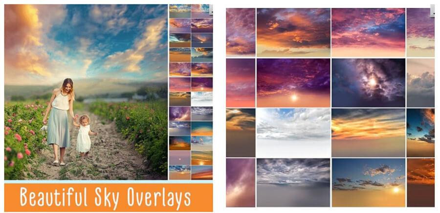 Stunning Sky Overlays