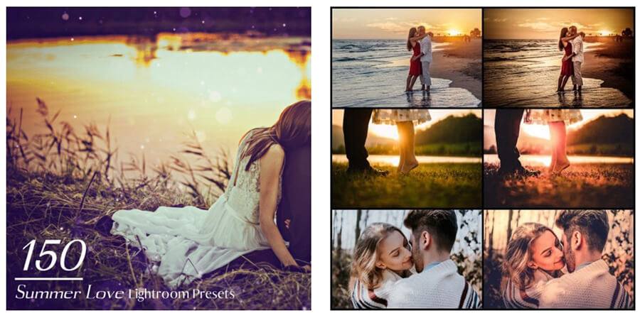 Summer Love Lightroom Presets