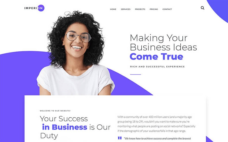 Business Elementor WordPress Themes