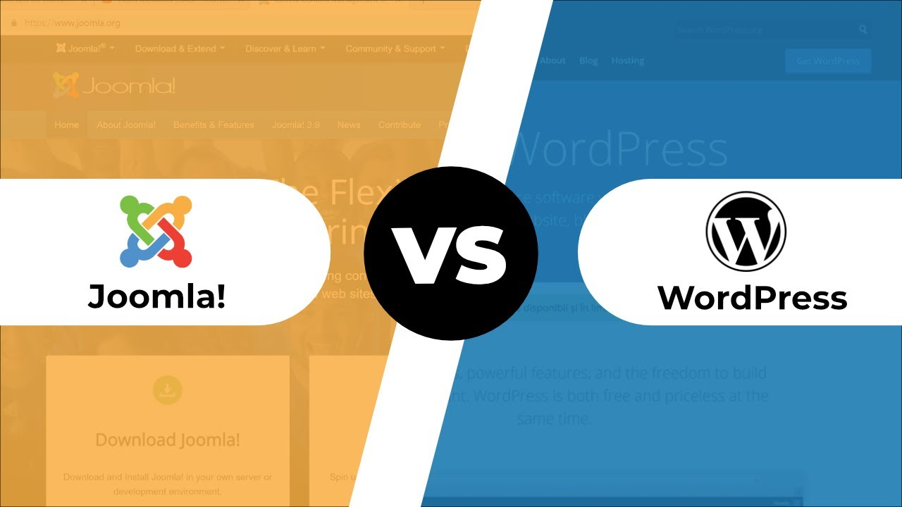 WordPress versus Joomla