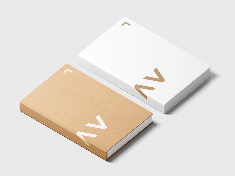 Isometric Book Mockup