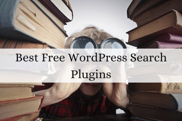 Best Free WordPress Search Plugins