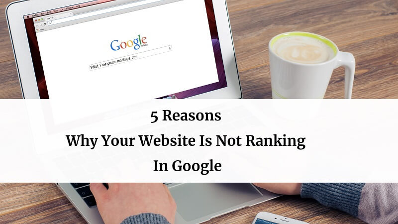 Why Your Website Is Not Ranking In Google