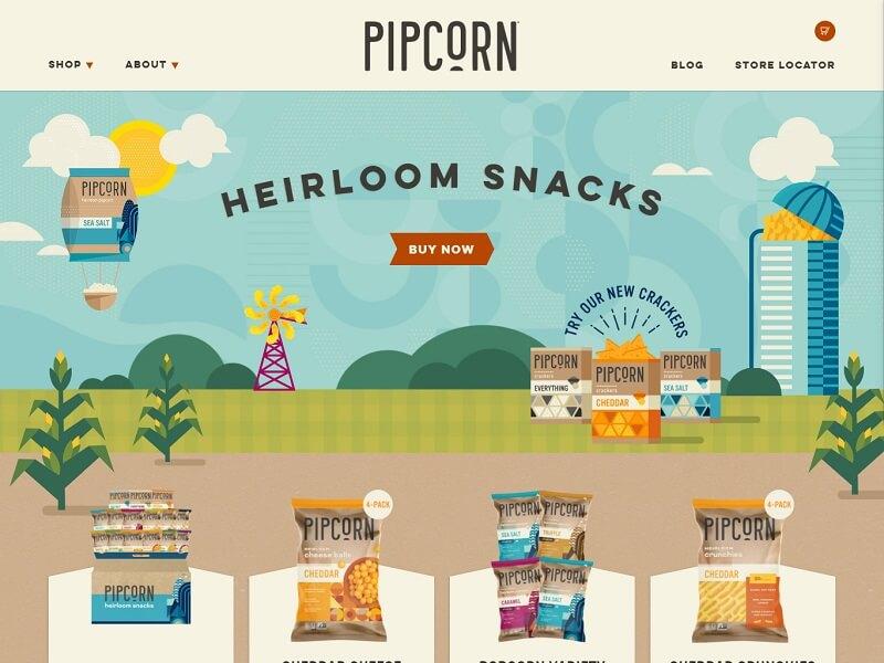 Pipcorn Heirloom Snacks