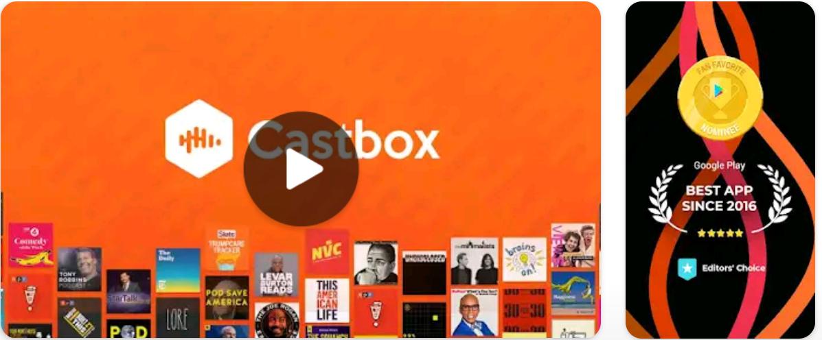 Castbox - Podcast player & App