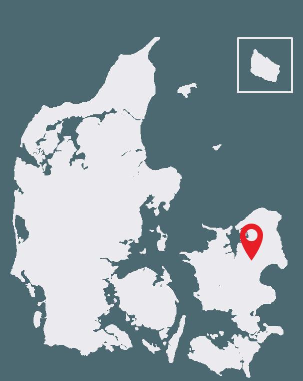 Duckfeet USA Roskilde Map