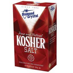 Diamond Crystal Kosher Salt 48 oz
