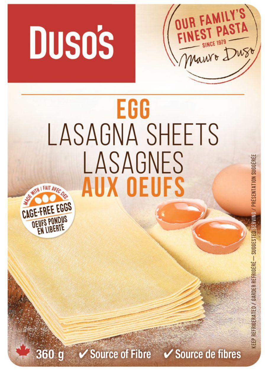 Dusos Lasagne Sheets