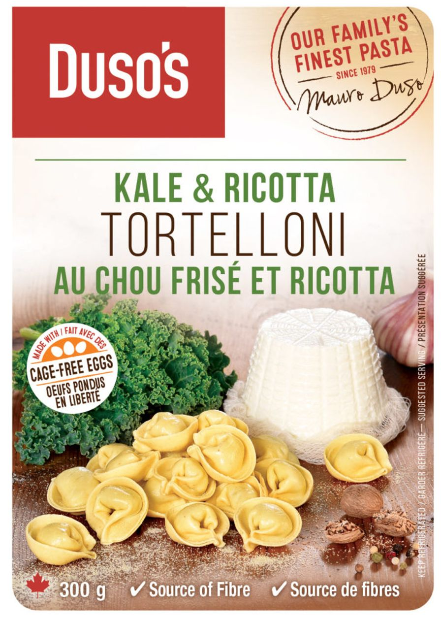 Dusos Kale & Ricotta Tortelloni