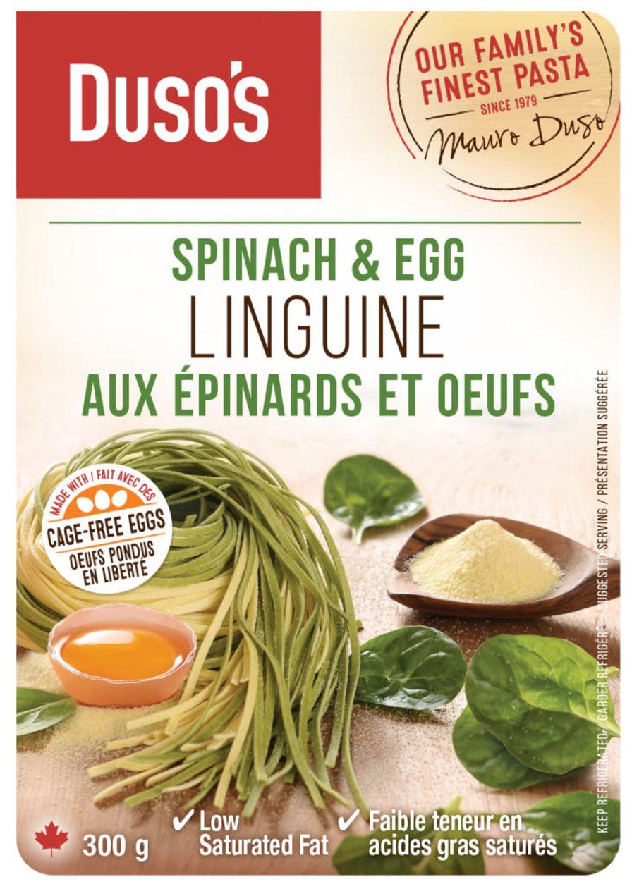 Dusos Spinach Linguine
