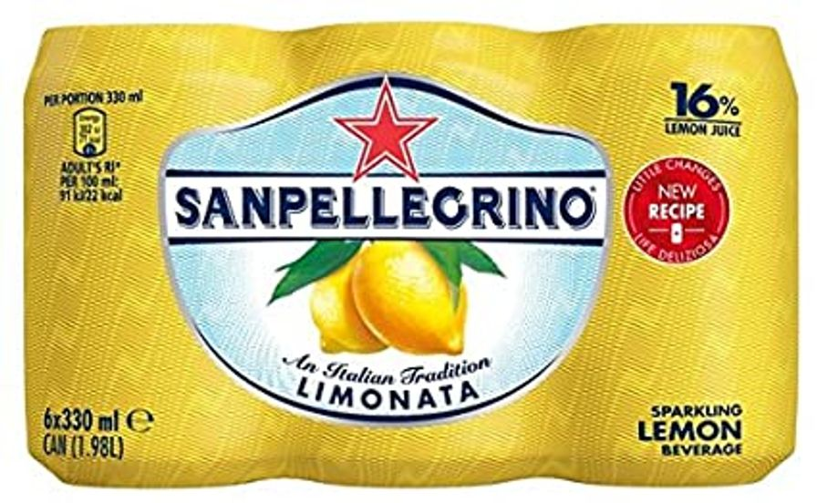 San Pellegrino - Lemon 6 x 330ml