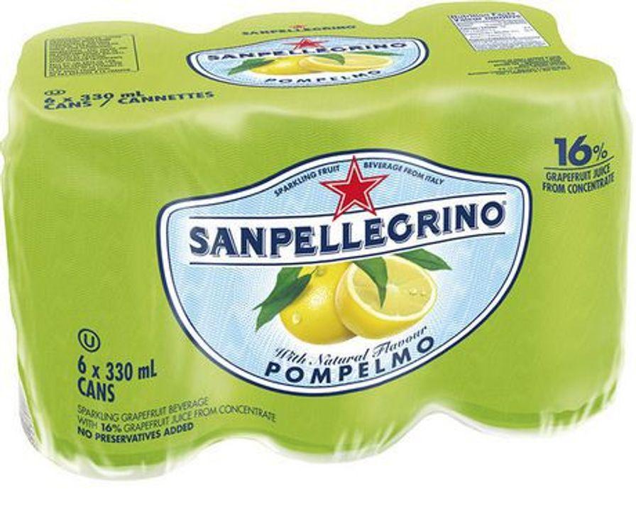 San Pellegrino - Grapefruit 6 x 330ml