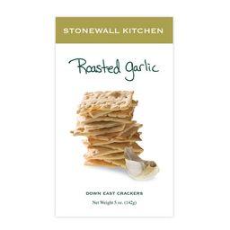 Stonewall Kitchen Roasted Garlic Crackers 142 g