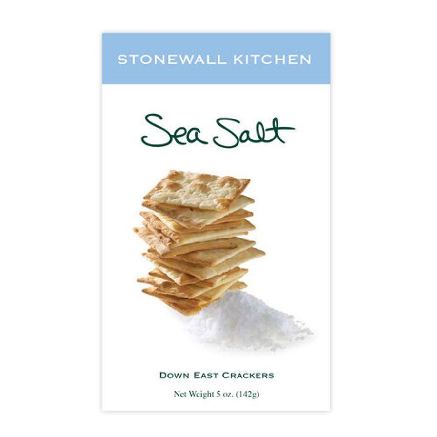 Stonewall Kitchen Sea Salt Crackers 142 g
