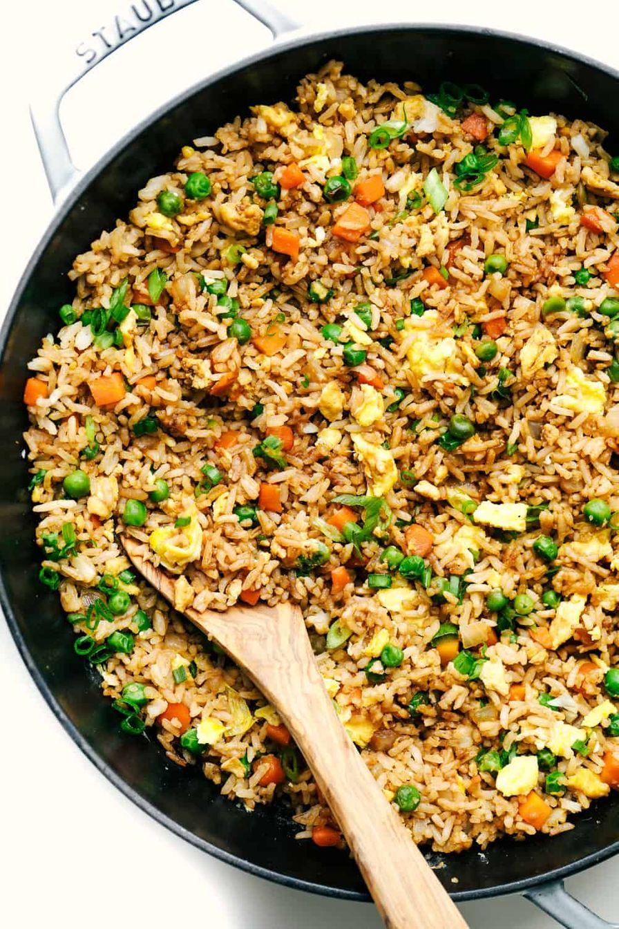 Peas-n-corn Fried Rice