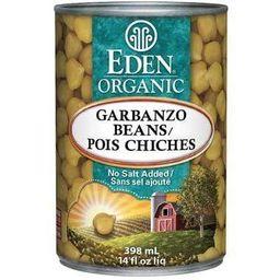 Eden Organic Garbanzo Beans 398 ml