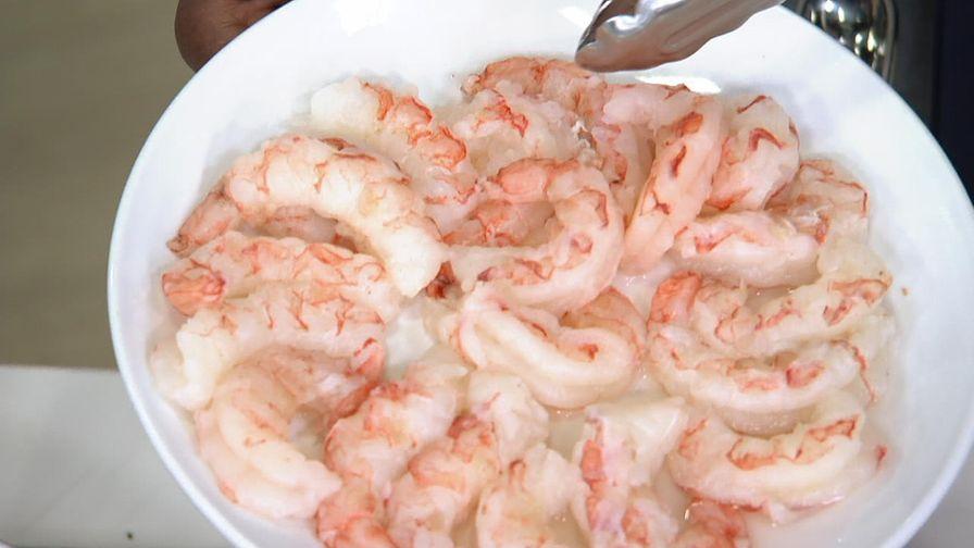 Wild Argentine pink shrimp - Shell off