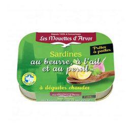 Sardines with Butter & Garlic (Persillade)