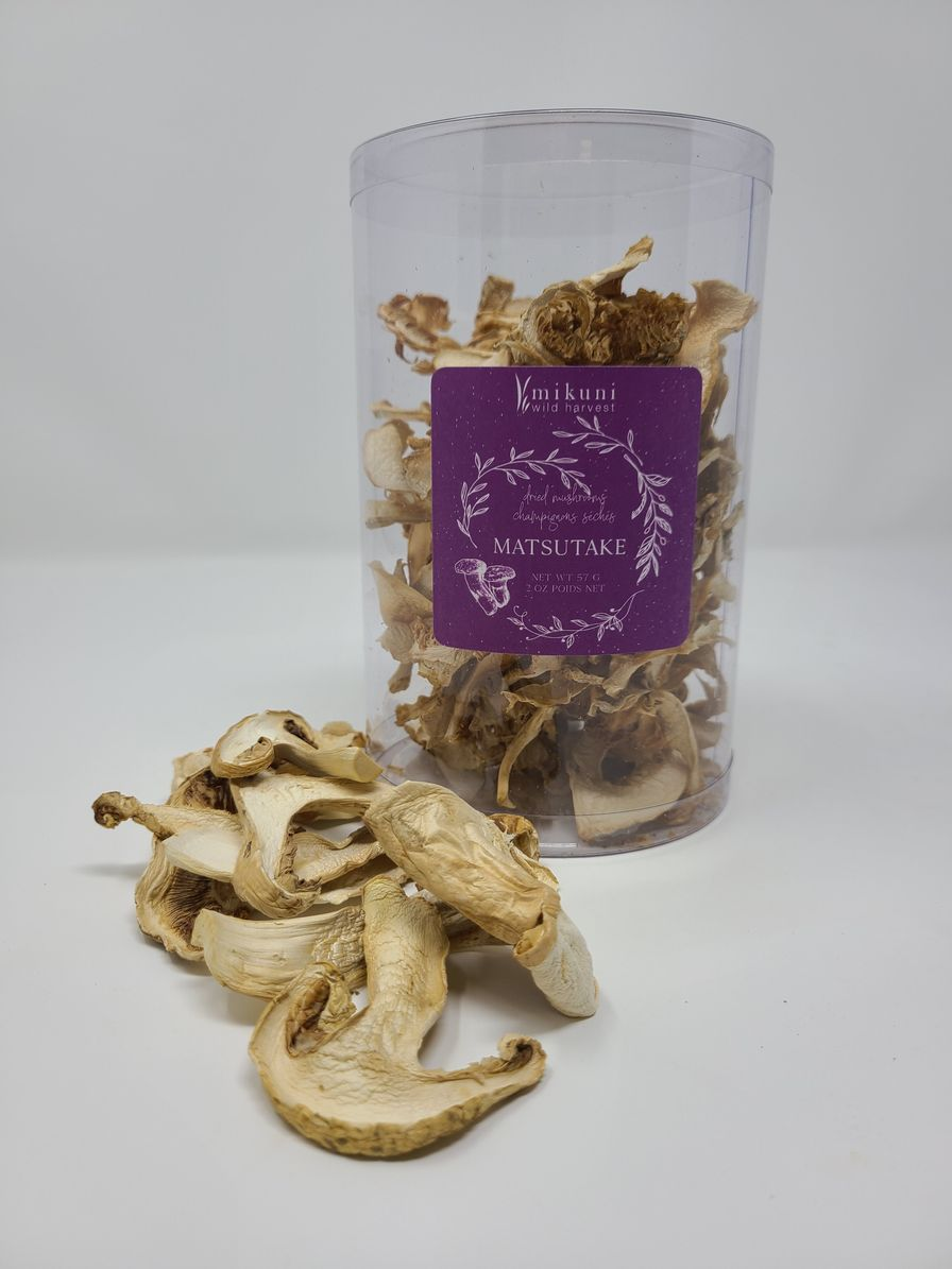 Dried Wild Matsutake Mushroom
