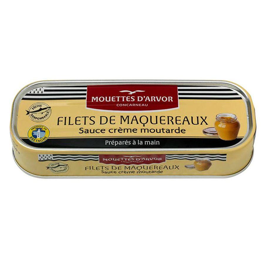 Mackerel in Mustard & Creme Fraiche