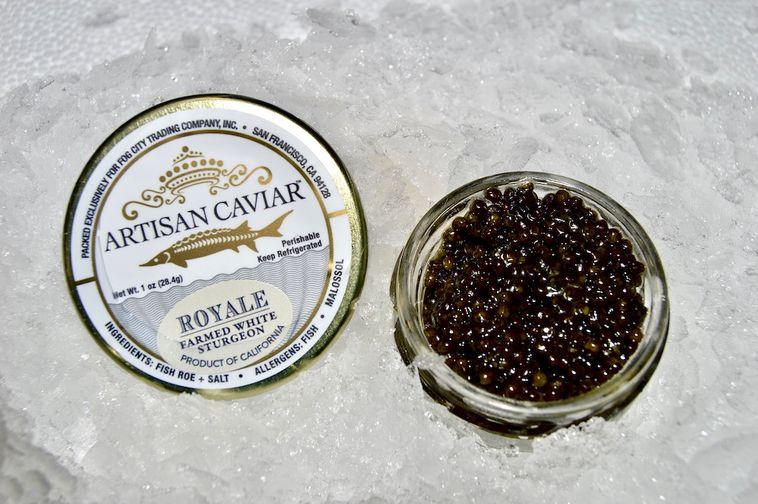 Caviar, California Royal Sturgeon