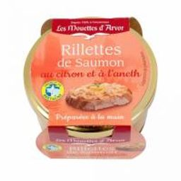 Rillettes of Salmon with Lemon & Dill