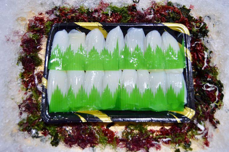 Mongo Ika/Prepared Cuttlefish