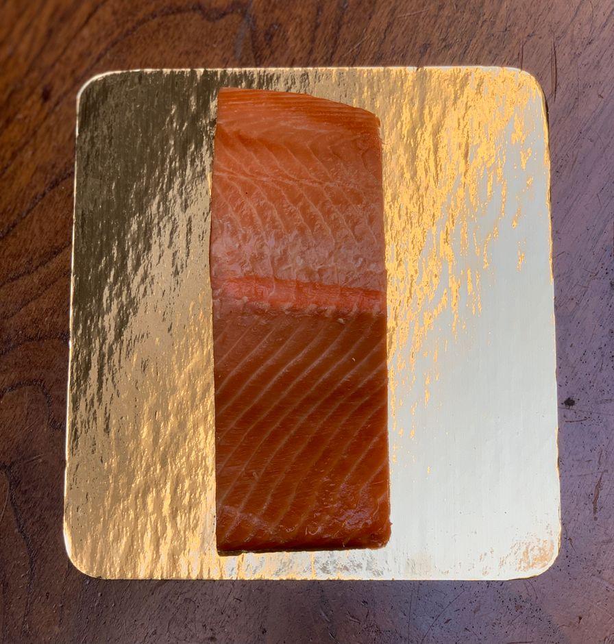 Hot Smoked Wild King Salmon (.5lb average)